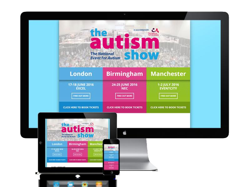 Autism Show Splash Page